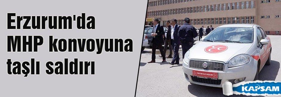 MHP Konvoyu Saldırıya Uğradı