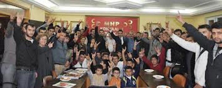 MHP Konyaaltı'nda Dev Buluşma