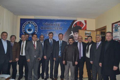 MHP Konya'da Sendikacılarla bir araya geldi
