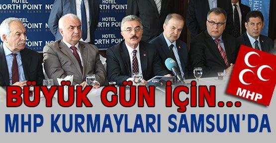 MHP Kurmayları  Samsun'da