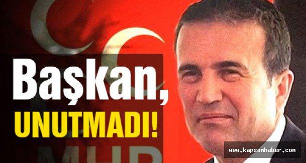 MHP'li Abdurrahman Başkan'ın Bayram Sabahı İlk İşi...