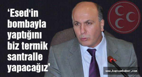 MHP'li Balıkesir Milletvekili:  Termik santrale şiddetle karşıyız