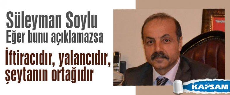 MHP'li Bekar: Soylu bunu açıklamazsa yalancıdır