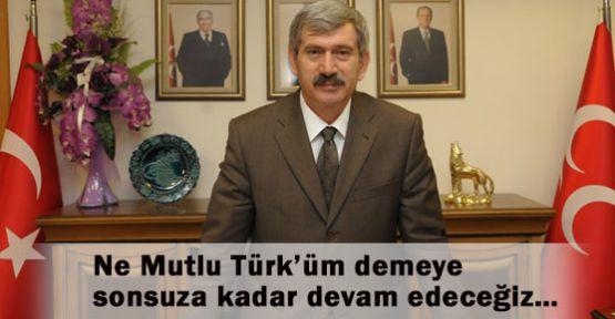 MHP' li Çetin: Ülkücü haykırış başlamıştır.