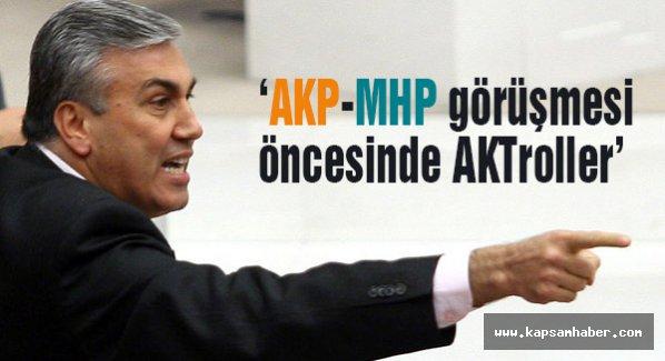 MHP'li Günal: koalisyon görüşmesi öncesi MHP'ye saldırıldı