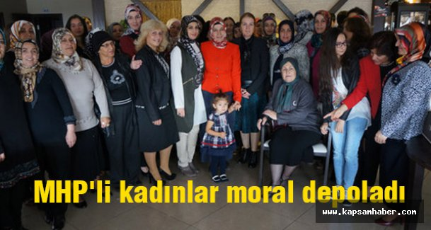 MHP'li kadınlar moral depoladı