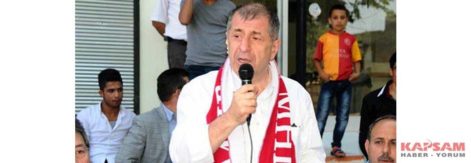 MHP'li Özdağ: Ak Parti  Büyük Hayal Kırıklığı Yaşayacak