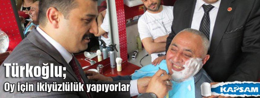 MHP'li Türkoğlu; Dün bölücülerle kol kola türkü söylüyorlardı