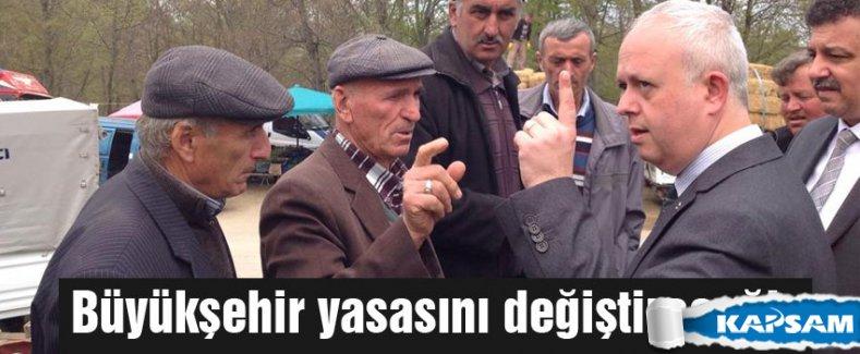 MHP'li ÜNER: Büyükşehir yasasını değiştireceğiz
