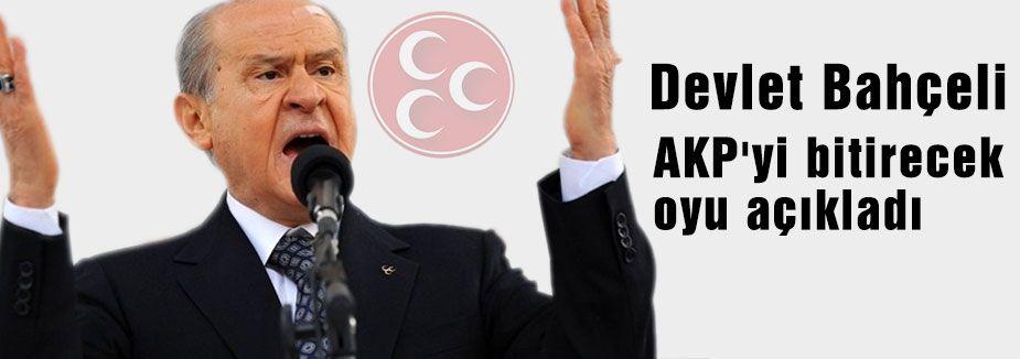 MHP Lideri Bahçeli Hesabını Yaptı!
