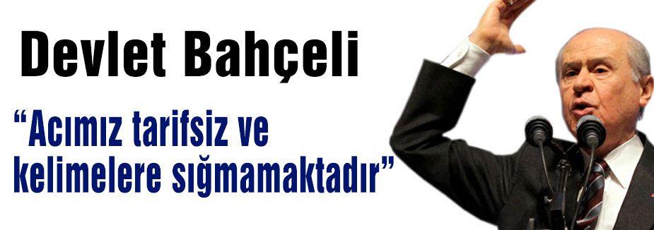 MHP Lideri Basın Açıklaması Yaptı