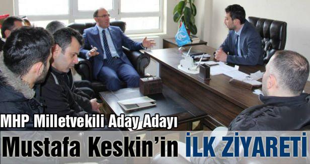 MHP Milletvekili Aday Adayı Mustafa Keskin İlk Ziyaretini yaptı