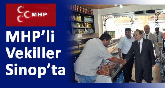MHP Milletvekilleri Sinop'ta