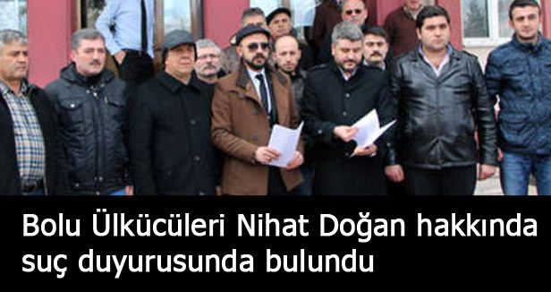 MHP, Nihat Doğan hakkında suç duyurusunda bulundu