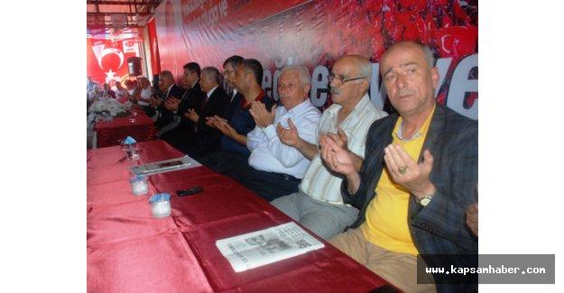 MHP, Osmaniye vekil adaylarını tanıttı