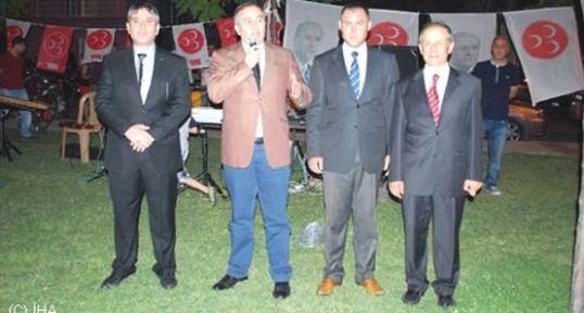 MHP Salihli'de Kır İftarı