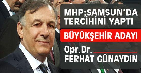 MHP Samsun Belediye Başkanı Kesinleşti