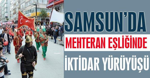 MHP Samsun'da İktidara Yürüyüşünü Gerçekleştirdi