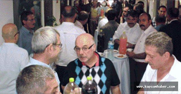 MHP Samsun İl Başkanlığı'nda bayramlaşma