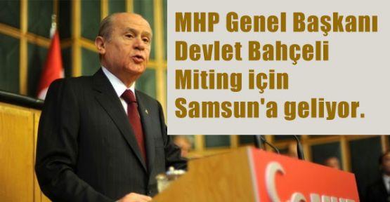 MHP Samsun'da