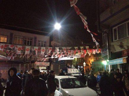 MHP Seçim bürosuna Saldırı...