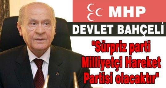 MHP Seçimlerde Süpriz Yaratacak...