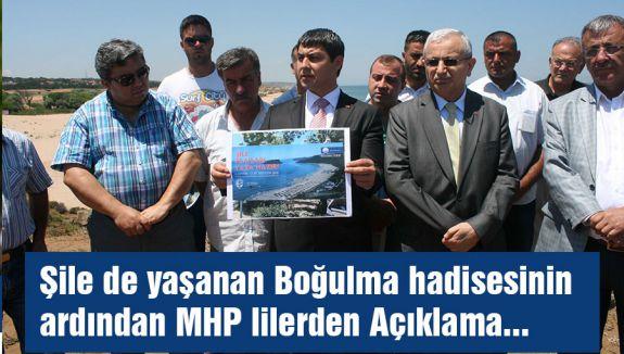 MHP, Şile'de boğulmayla ilgili açıklama yaptı