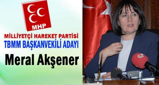 MHP TBMM Başkanlık İçin Adaylarını Bildirdi