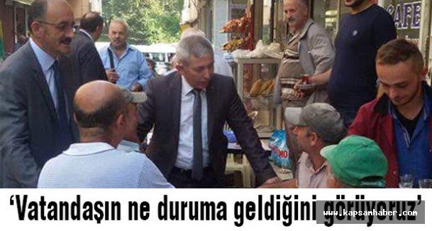 MHP Vekil Adayı Ayhan Cengiz'e Salıpazarı'nda İlgi...