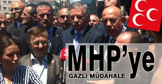 MHP 'ye Taksimde Müdahale...