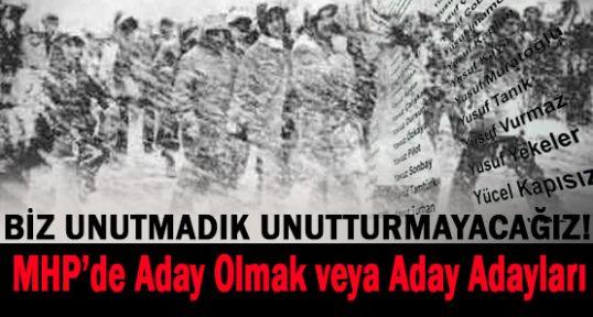 MHP'den Aday Olmak...