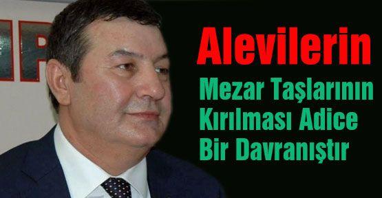 MHP'den Alevilerin mezar taşlarının kırılmasına tepki