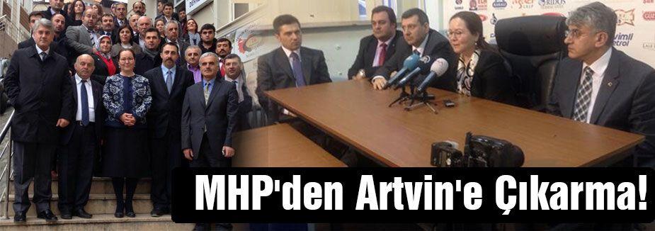 MHP'den Artvin'de Gövde Gösterisi