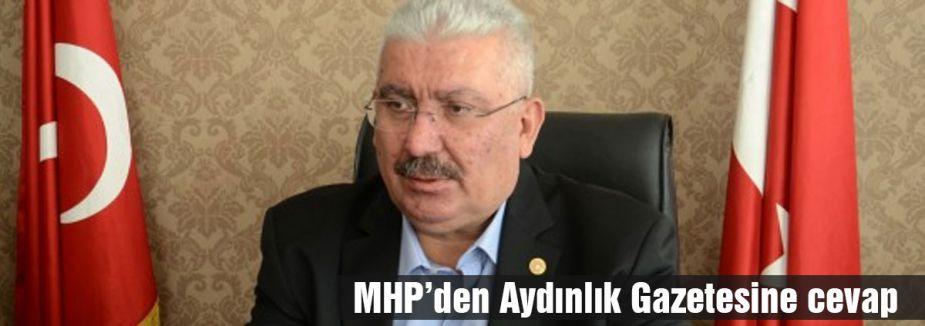 MHP'den Aydınlık Gazetesine Cevap