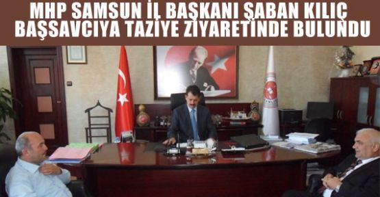 MHP'den Başsavcıya Taziye Ziyareti