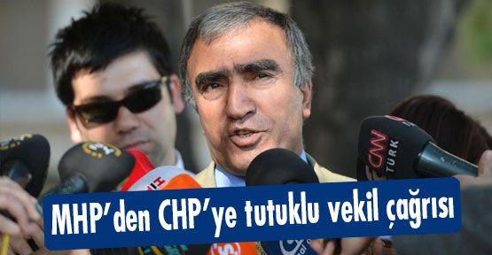 MHP'den CHP'ye tutuklu vekil çağrısı