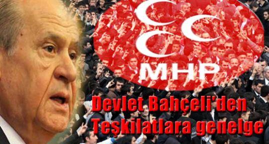 """MHP'den Genelge """"Çatışmaya fırsat verilmesin, fitneye itibar edilmesin"""""""