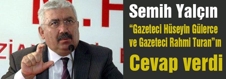 MHP'den Gülerce ve Turan'a cevap