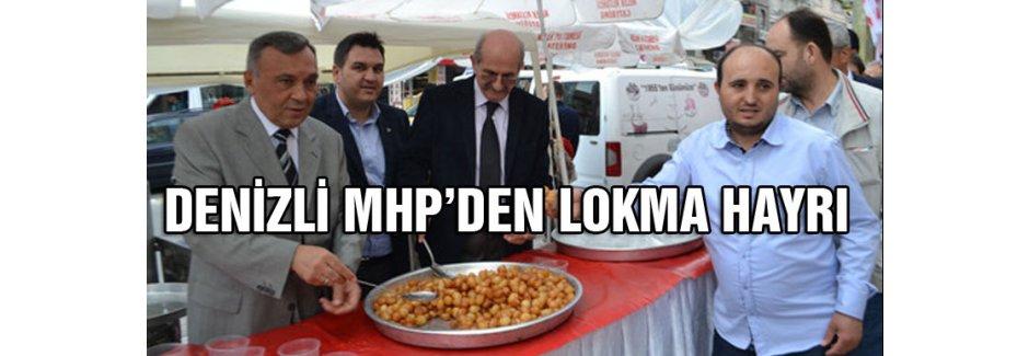 MHP'den lokma hayrı