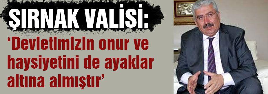 MHP'den Şırnak Valisi'ne Sert gönderme