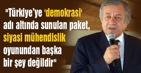 MHP'li Adan: Siyasi Mühendislik Oyunu...