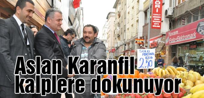 MHP'li Aslan Karanfil kalplere dokunuyor