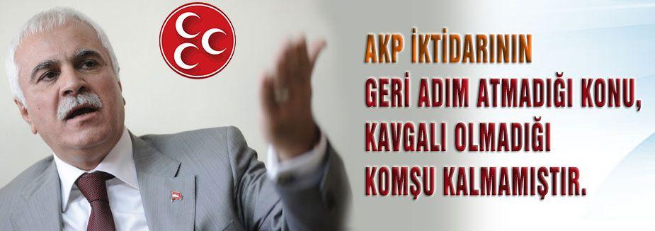 MHP'li Aydın: MHP'nin yaptığı, niyet okumak değil; tarih okumaktır.
