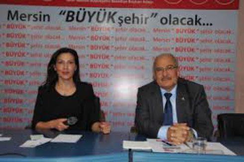 MHP'li Başkan Kocamaz, BDP'li Eş Başkan Türk'ü ziyaret etti