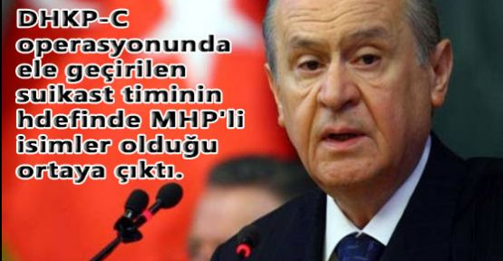 MHP'li Beş Vekile Suikast Girişimi