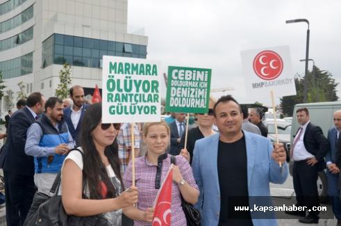 MHP'li Bülent Karataş:Doğayı katlettiler!!!