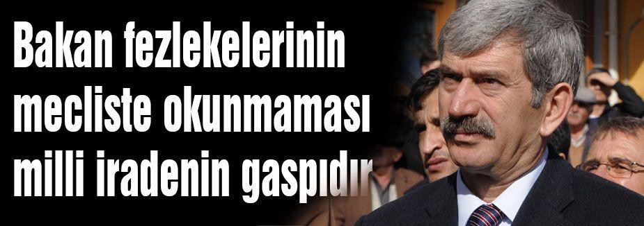 MHP'li Çetin'den Fezleke Açıklaması