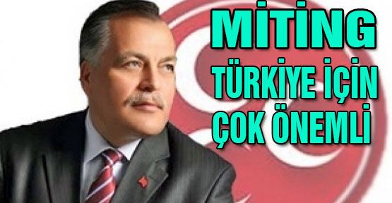 MHP'li Dumanlı: Türkiye için çok önemli