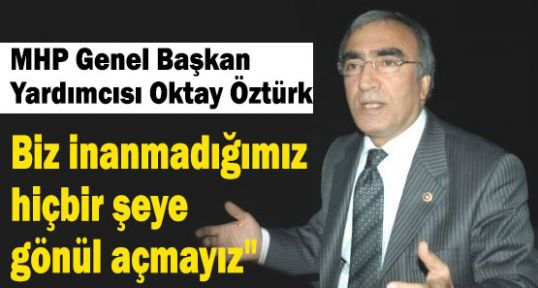MHP'li Öztürk;