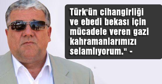 MHP'li Şeker'in Gaziler günü mesajı